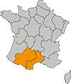 zone d'intervention du service debarras de l'occaz : occitanie